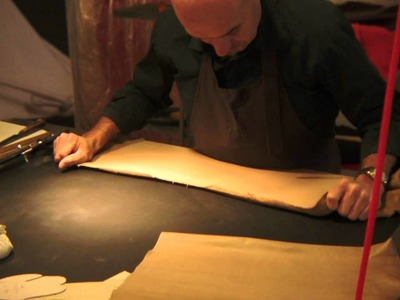Hermès Artisans at the Festival of Crafts: Saddles, Gloves and Ties