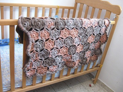 Hexagon Baby Blanket - Crochet Tutorial