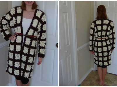 How to Crochet a Granny Square Jacket