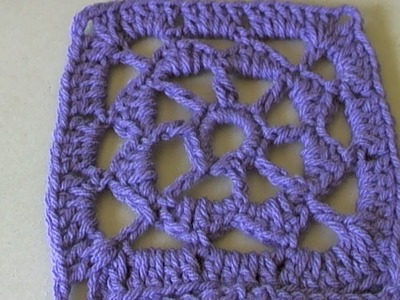 How to crochet Adrienne Square