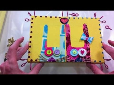 How To Hand Make an Art Canvas Frame