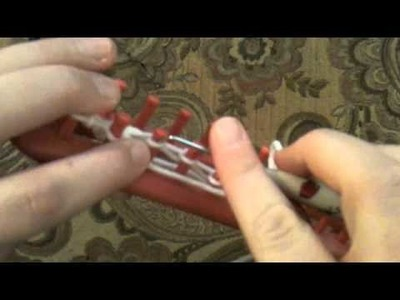 How to Loom Knit the Moss Stitch