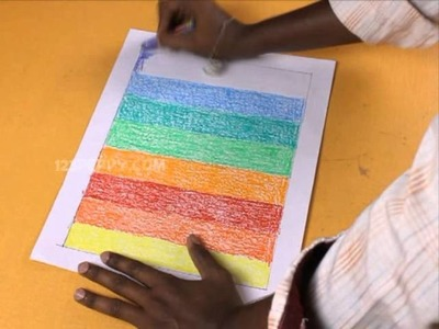 How to Make a Crayon Painting