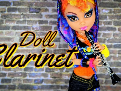 How to Make a Doll Clarinet - Doll Crafts