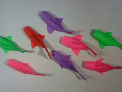 How to make Origami Fish Koi (sipho mabona)