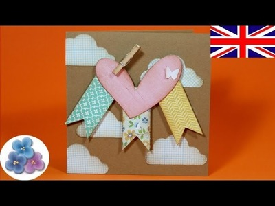 How to make Valentines Cards DIY Valentines Day V day Love Cards Papercraft Scrapbook Crafts Mathie
