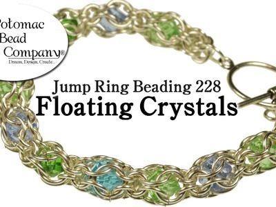 Make a Floating Crystals Bracelet