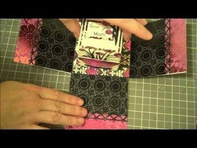 My Pink Stamper National Scrapbook Day Explosion Box Mother's Day Project