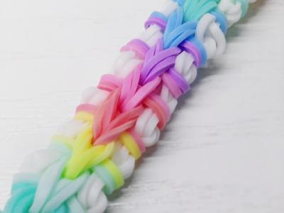 NEW Double Origami Rainbow Loom Bracelet Tutorial (Original Design)