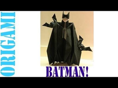 Origami Daily - 046: BATMAN - TCGames [HD]