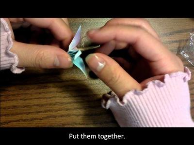Origami Earrings Tutorial