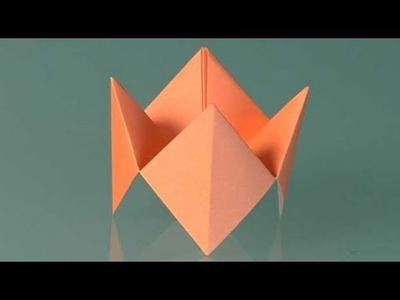Paper Fortune teller. How to make origami