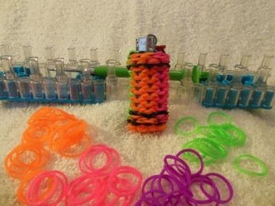 Rainbow Loom Mini Lighter Case tutorial