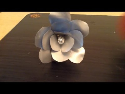 Recycle: Toothpaste tube flowers
