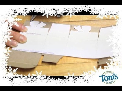 Terracycle and Tom's of Maine: DIY Gift Box