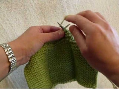 The Purl Stitch - Knitting Lesson 7
