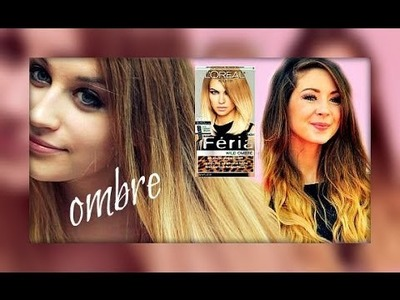 Zoella-Inspired DIY Ombre Hair Vlog.Tutorial