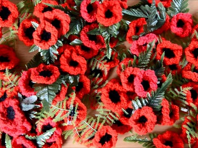 2,000 poppies knitted to sell for British Legion