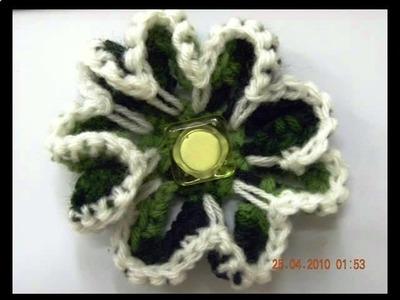 Beautiful Crochet Flowers Photos 2