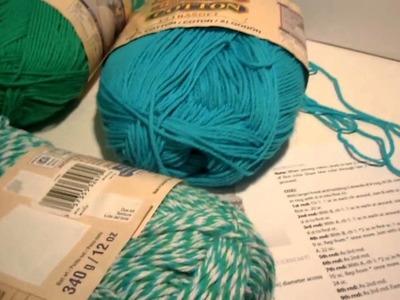 Bernat Crochet Cup Cozy - Gathering Materials