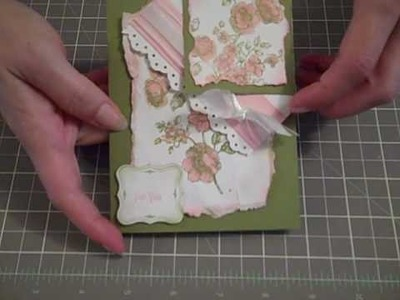 Bookmark - Stampin'Up! Tutorial