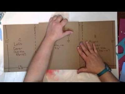 Christmas folio tutorial