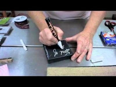 Crankin' Out Crafts -ep149 Burlap Canvas Art