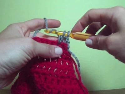 Crochet Basics - How to Change Colors