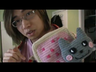 Crochet Nyan Cat Bag