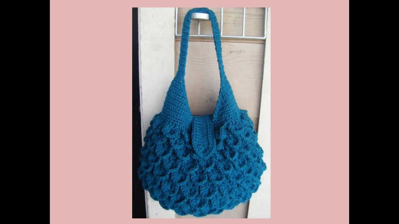 Crocodile Crochet Bag PATTERN