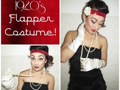 DIY 1920'S Flapper Costume Tutorial | Simply Just Rebekah
