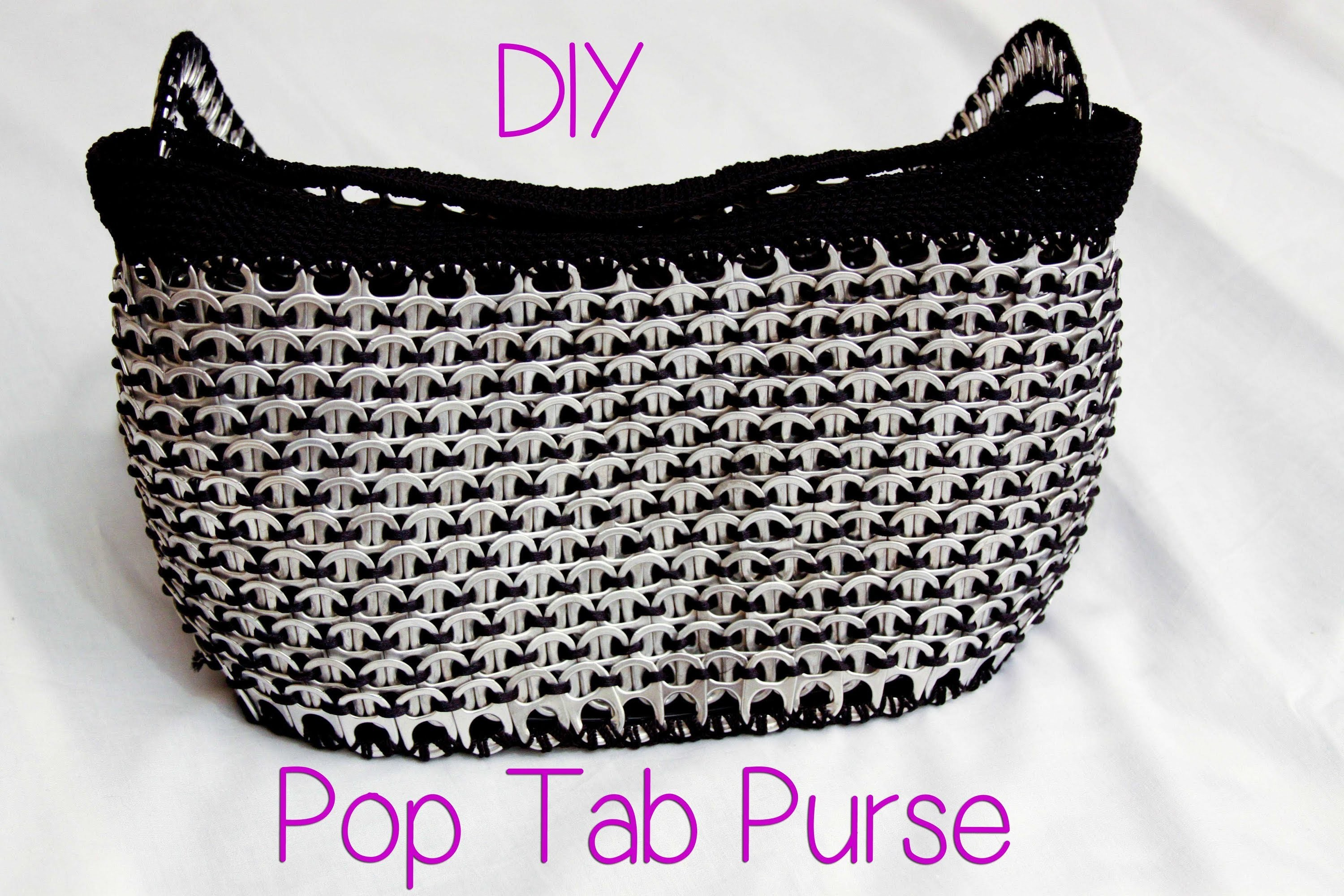 DIY: Aluminum Pop Tab Handbag part 1