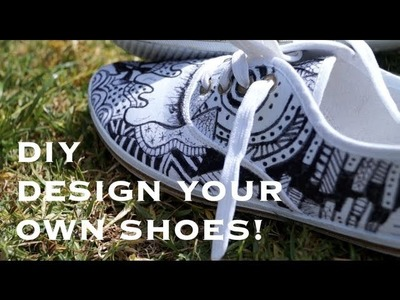 DIY- Canvas Shoes