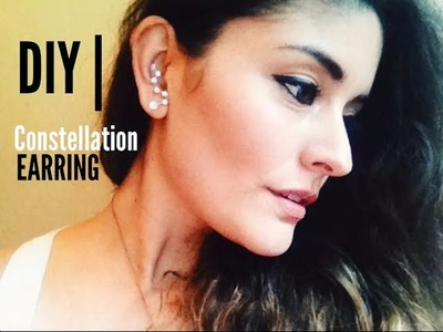 DIY | Constellation Earrings