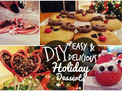 DIY Easy & Delicious Holiday Desserts! ❄
