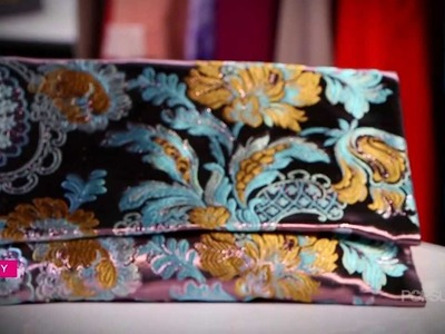 DIY Fashion | Oversized Fabric Clutch Tutorial on POPSUGAR Girls' Guide!
