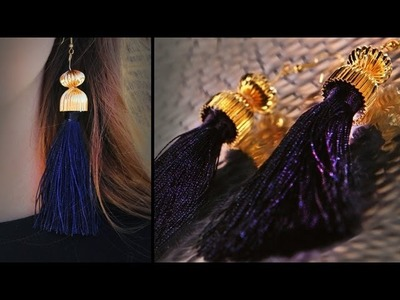 DIY Fashion | Tassel Earrings | Designer DIY