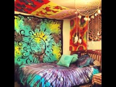 DIY Hippie room decorating ideas