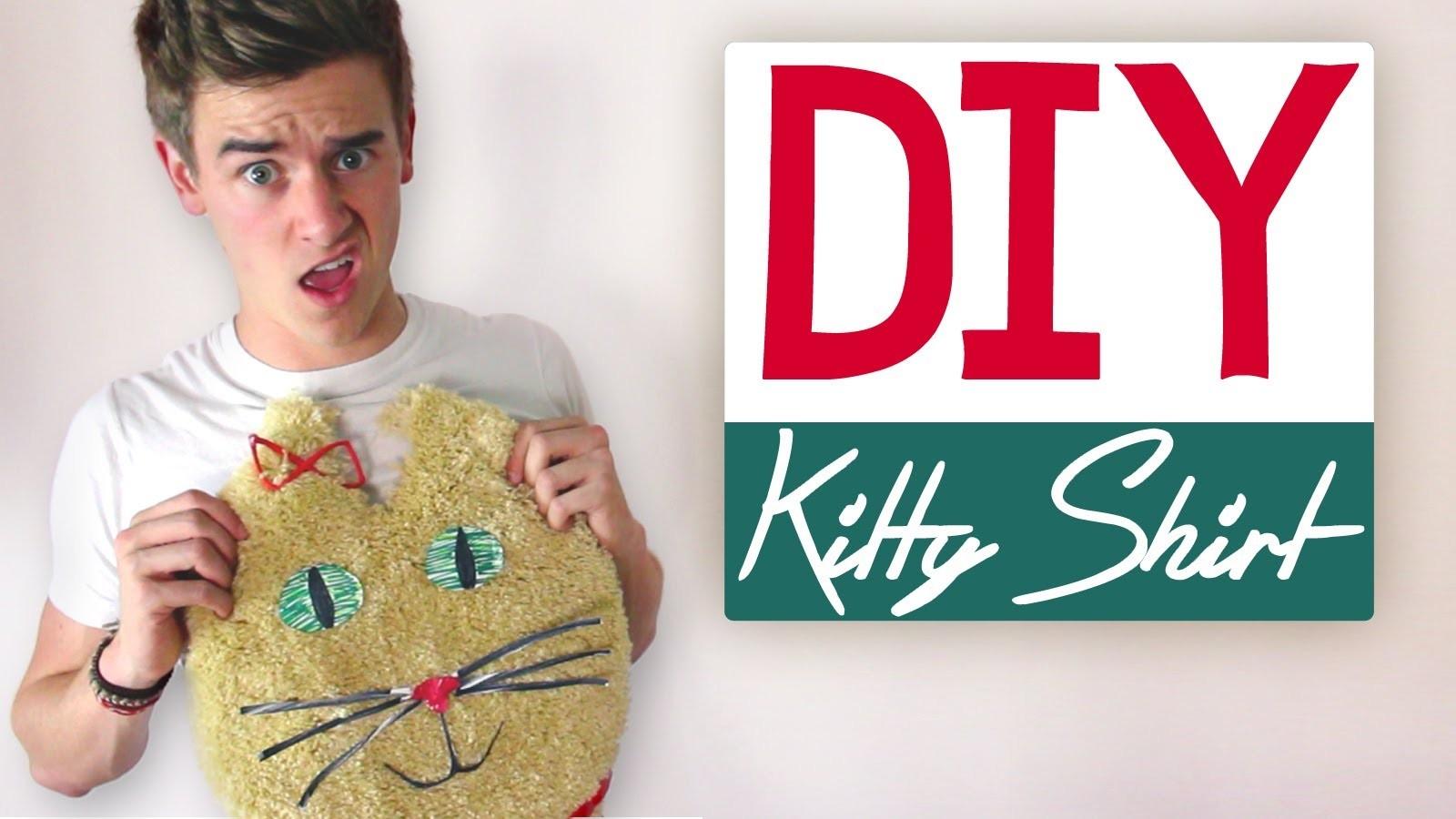 DIY: KITTY SHIRT