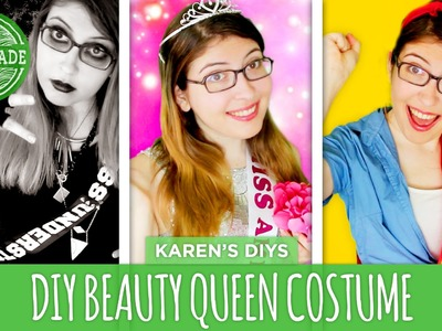 DIY Last-Minute Beauty Queen Costume - HGTV Handmade