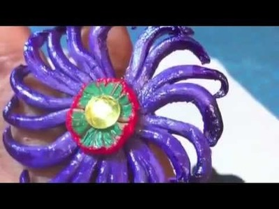 DIY Leather Rings    Jewelry Craft