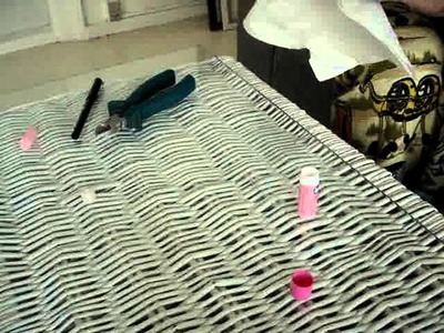 DIY secret hiding place in chapstick