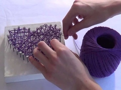 DIY: String Art - ColourfulCreativity