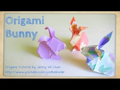 Easter Crafts - How to Fold: Origami Rabbit. Bunny - Paper Easter Crafts - Kids & Classrooms