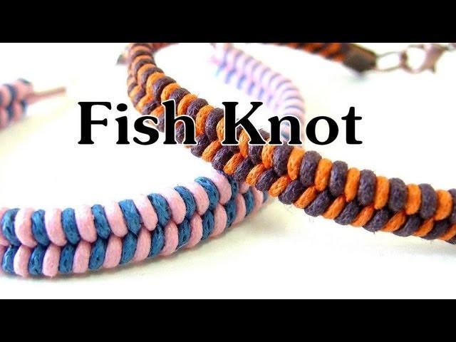 Handmade DIY - Fish Knot Bracelet