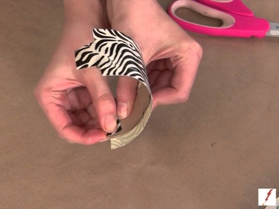 How to Make a Duct Tape Cuff Bracelet
