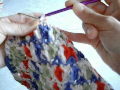 How To Make a Reverse Single Crochet Stitch