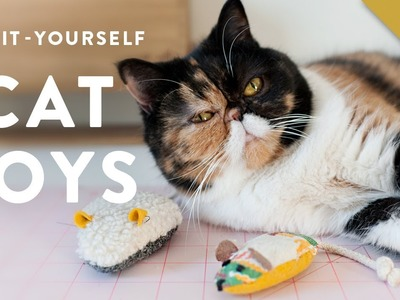 How to Make Cat Toys