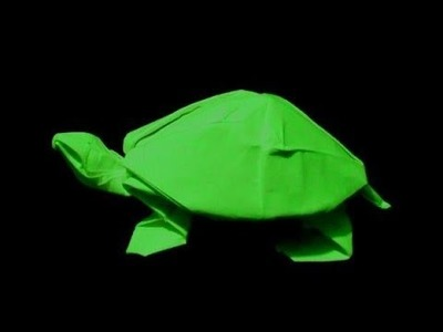 How to make: Origami Turtle (Robert J. Lang)