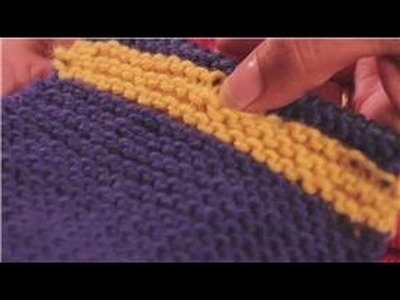 Knitting : Changing Yarn Colors when Knitting a Sweater